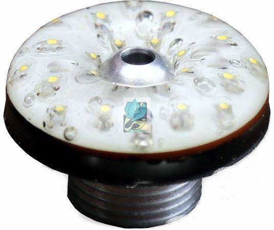چراغ فواره اي 1.5W , چراغ فواره اي 1.5Wعدسی داخل , چراغ بهمراه نازل , چراغ فواره لوله 1/2 , چراغ آبنما