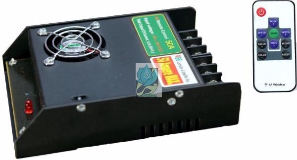 کنترلر RGB 50 آمپر , کنترلر wireless