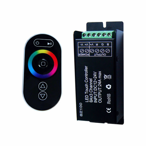 کنترلر RGB رادیویی لمسی - قیمت کنترلر RGB رادیویی لمسی