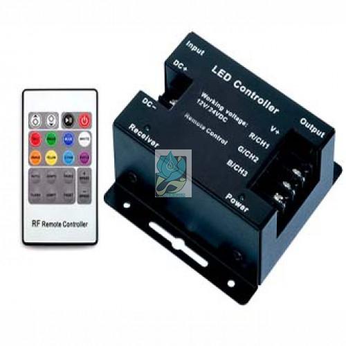 کنترلر RGB رادیویی 36 آمپر 12 ولت مدل DM36RF
