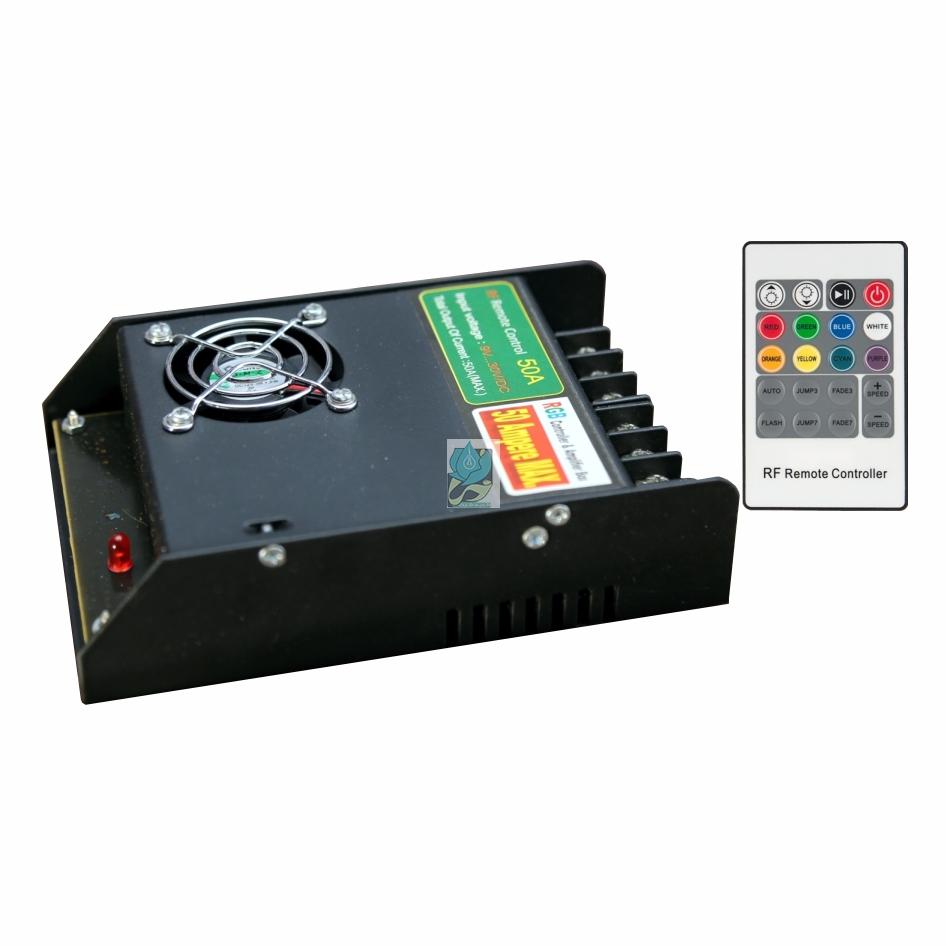 کنترلر RGB رادیویی 50 آمپر 12 ولت مدل DM50RF