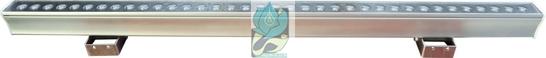 چراغ وال واشر ضد آب تک رنگ 36 وات 12 ولت مدل 36RW
