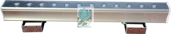 چراغ وال واشر ضد آب تک رنگ 12 وات 12 ولت مدل 12RW