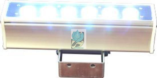 چراغ وال واشر ضد آب تک رنگ 6 وات 12 ولت