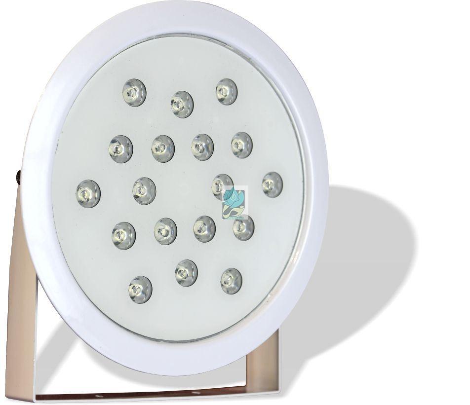 چراغ پایه دار ضد آب تک رنگ 18 وات 12 ولت مدل 18REP - چراغ پایه دار ضد آب - چراغ پایه دار ضد آب تک رنگ - چراغ پایه دار