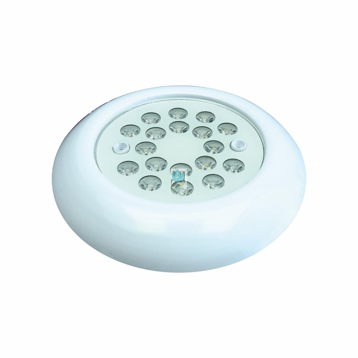 چراغ روکار استخری فلت مولتی کالر 18 وات 12 ولت مدل 18RRM - چراغ روکار استخری فلت - چراغ روکار استخری مولتی کالر - چراغ روکار استخری فلت مولتی کالر