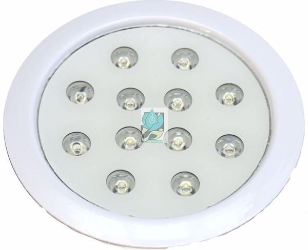 چراغ توکار استخری فول کالر 36 وات 12 ولت مدل 36RERGB