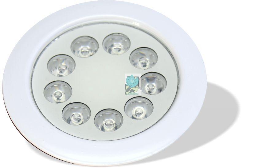 چراغ توکار استخری مولتی کالر 9 وات 12 ولت مدل 9REM