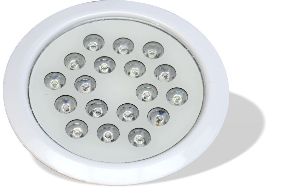 چراغ توکار استخری مولتی کالر 18 وات 12 ولت مدل 18REM
